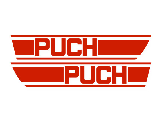 Tankkleber Puch X30 (rot)