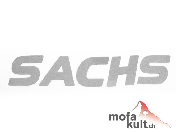 """""""Sachs"""" Schriftzug für Textil & Leder"""