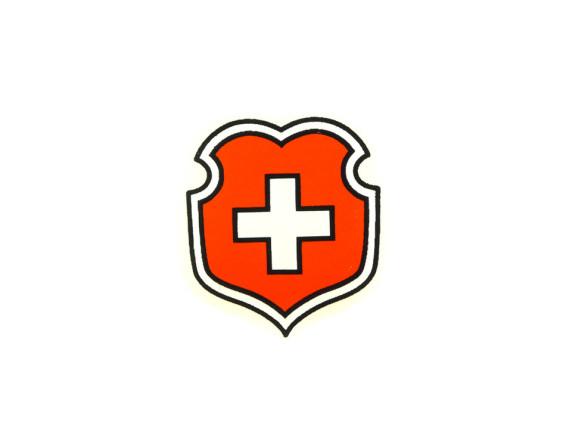 Schweizer Wappen Wasserabziehbild